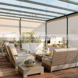 China Waterproof Folding Outdoor Blinds balcony Blinds