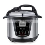 Large 8L 1200W basic cheap energy saving commercial digital control multifunction big rice cooker and pressure cooker