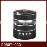 Robot-030 vibration portable mini speaker,active powered Sound box,card speaker