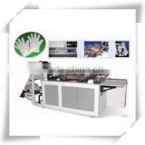 HDPE and LDPE plastic Disposable glove making machine