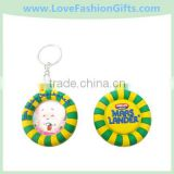 Soft Pvc Life-Buoy Keyring,Swim Ring Key chain