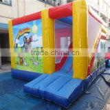 New designed inflatable bouncy castle with water slide/inflatable bounce house