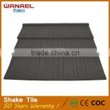 Wanael building materials stone coated high strength sheet noisy resistance steel roofing