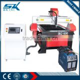 Senke cheap chinese cnc plasma cutting machine with sawtooth table for aluminum copper brass