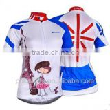 Custom Logo Bike Bicycle Jersey Pro Team Cycling Clothing for Women