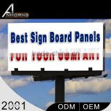 Highest Quality New Design Low Price Smooth Line Outdoor Advertising Billboard Light Box