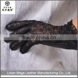 Made in China Hot Sale pu synthetic leather golf glove
