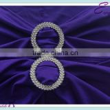 YHA#05 sash band rhinestone buckles - polyester banquet wedding wholesale table cloth cover chair cover sash band