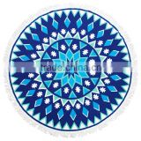 2016 hot sale round beach towels wholesale beach towels mandala round towel                                                                         Quality Choice                                                                     Supplier's Choice