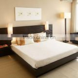 King size hotel bedroom set, black lacquer finished bedroom sets HDBR1113                                                                                                         Supplier's Choice