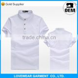 Professional factory cheap price high quality customized OEM service export mens plain polo t-shirts