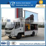 Economic Product Hydraulic leg Billboard LED Advertising Truck best-selling price