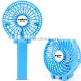Portable battery-replaceable hand held fan for camping, hiking, daily work for hot weather mini usb fan folding usb air fan