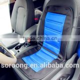 Portable adult car heating seat booster cushion