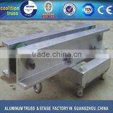 aluminum spigot truss top section for concert truss, stage truss accessories