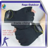 half finger racing gloves with size S,M,L,XL, LOGO can be customized, black or camouflage color