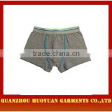 Huoyuan sexy Professional OEM ODM Factory Supply daily underwear men basic boxers collection