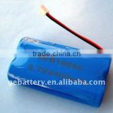 2016 GEB High Quality Cylindrical 18650 3.7V 4400mah (1S2P) Lipo Battery Shenzhen Factory