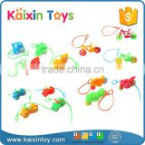 Promotional Pull Line Toys Children Plastic Surprise Egg Toy