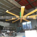 New design fashion low price 7.2m Fan diameter Controller included bladeless ceiling fan