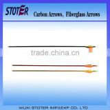 fiberglass arrow/wholesales carbon arrow /hunting cross bow