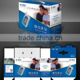 Customized printing corrugated paper colour box/printing corrugated box/paper package box