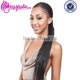 Wholesale products china factory synthetic hair colorful braids extensions for black women