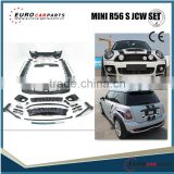 HOT SALE PP body kit fit for MINI COOPER R56 TO R56 S JCW style 06~12