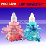 Cute Plastic Feeding Bottle Shape Candy Packing Case Baby Shower Baptism Gift Party Favors