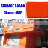 aluminum composite plastic sheet signboard flatness printable 4x8 sheets