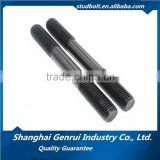 ISO9001 certified grade 8.8 DIN939 end=1.25d DIN940 end=1.5d double end studs threaded rods