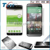 9H 0.15/0.2/0.26/0.33/0.44mm tempered glass screen protector for HTC ONE M8 ,for HTC ONE M8 screen protector tempered glass