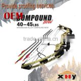 Popular outdoor hunting compound bow with 30-50lbs draw weight