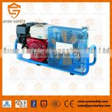 CE approved 200 bar / 300 bar high pressure air compressor for breathing apparatus MCH6/SH
