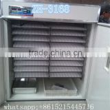 Focus industry automatic broiler chicken hatching eggs 3000 eggs chicken incubator 3000 eggs ZH-3168