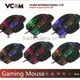VCOM 6D Fashion Mouse LED Gaming Mouse Optical Mouse with USB and Laser
