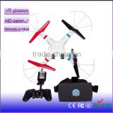 Wholesale New Product flying HD camera rc helicopter 2.4G VR drone professional wifi remote control uav