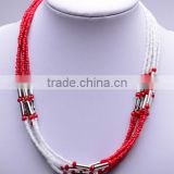 Foreign trade export fashions neck beads designs CCB multilayer latest design beads necklace