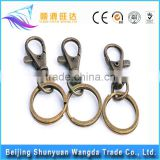 China Die Casting Metal Fashion Bag Buckles Metal Brass Lock Metal Bag Buckle