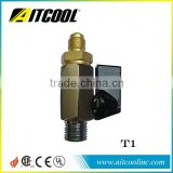 Accessories for vacuum pump Ballvalve/ inlet port/ plug/ solenoid valve