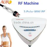link: AU-38 5mhz tripolar rf beauty machine / radio frequency beauty machine for home use