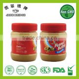 Hot-sell Chinese peanut butter in plastic jars