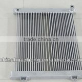 Cummins tube type hydraulic oil cooler radiator for Loader
