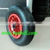"16"" Pneumatic Rubber Wheel for Wagon Trolley"