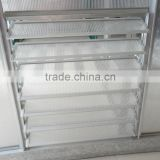 Side manual metal louver window for greenhouse ventilation HX-L165-1