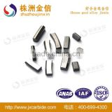 Tungsten Carbide Blades Tips For Cutting With Size Can Be Customized