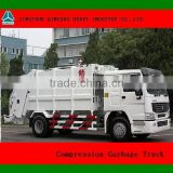 QINGZHUAN 16m3 Compression Garbage Truck