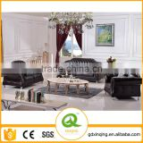 EF-012 Leather Sofa Set 3 2 1 Seat Couches Living Room Furniture Sofa Set