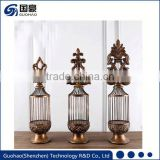 New design classic low price electroplated candle jars