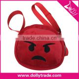 Wholesale Custom Emoticon Plush Custom Whatsapp Emoji Phone Bag
